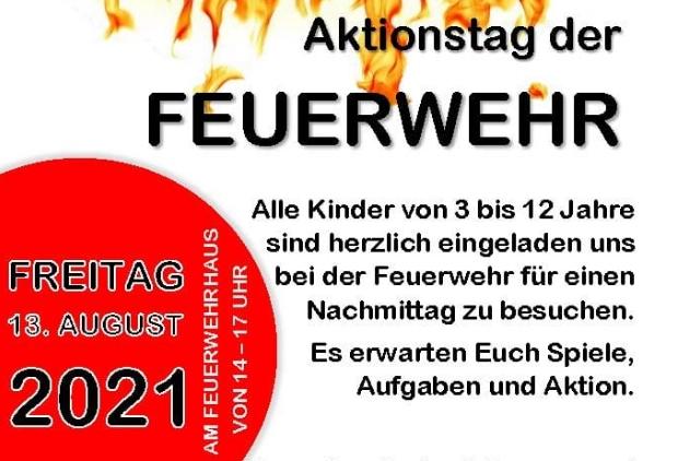 Aktionstag Kinderfeuerwehr