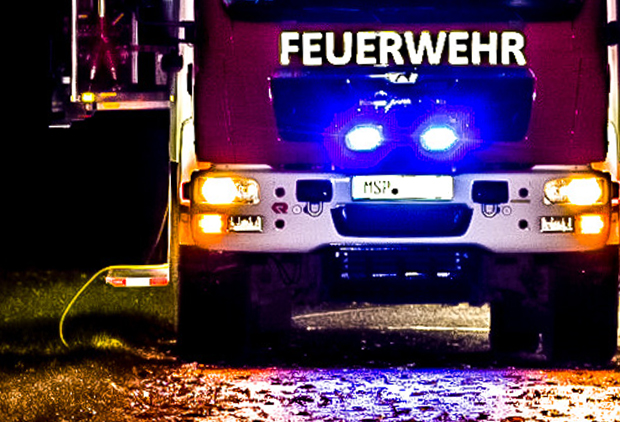 EINSATZ – Brandnachschau nach gelöschtem Maschinenbrand